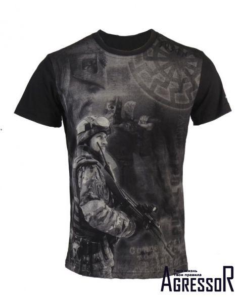 Черные футболки и майки мужские 48-50 размера