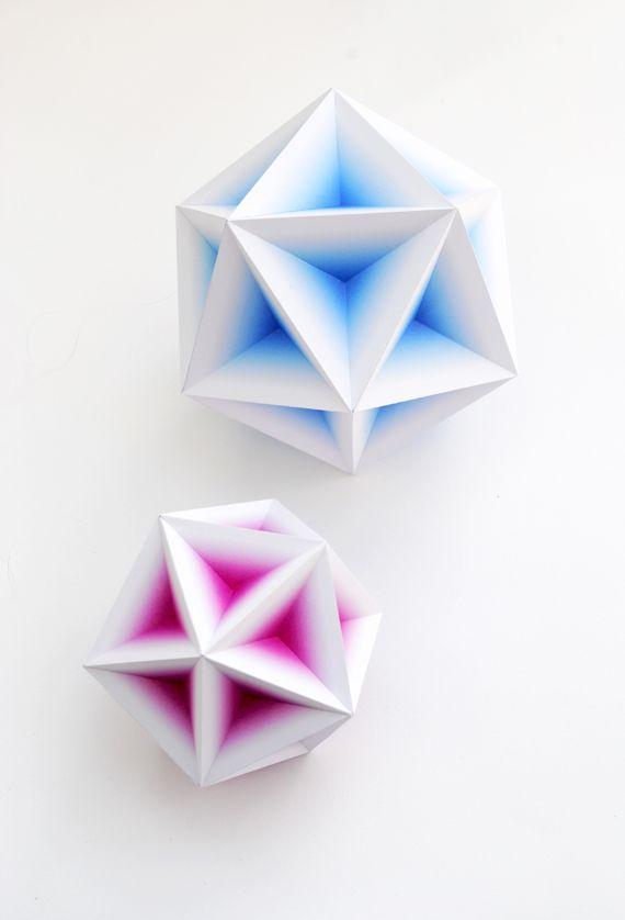 geometric gradient models // by minieco