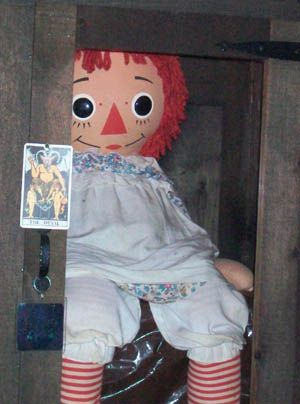 Real Haunted Annabelle Doll
