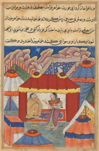 Tuti-Nama (Tales of a Parrot): Tale XXIV   Cleveland Museum of Art