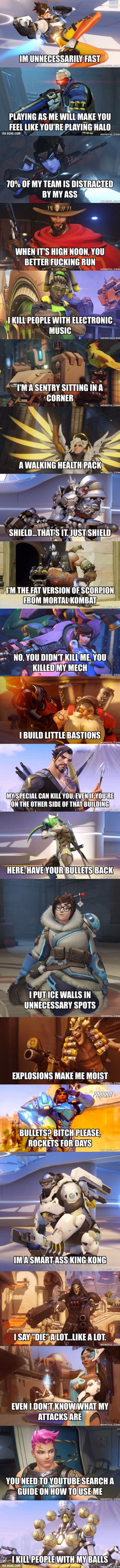 Overwatch In A Nutshell>>>so very true