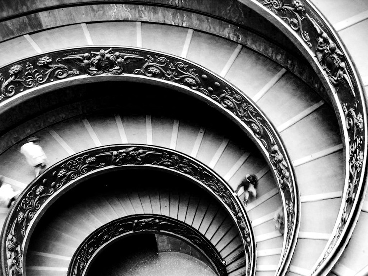Steps in Vatican, Rome