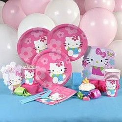 Hello Kitty Themed Party Supplies & Decoration Ideas. hello kitty tableware