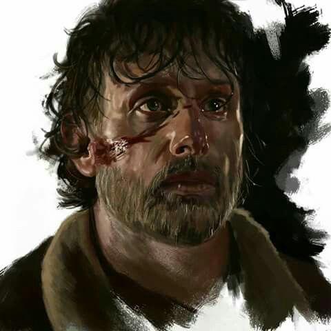 Rick Grimes- Amazing Art Work!