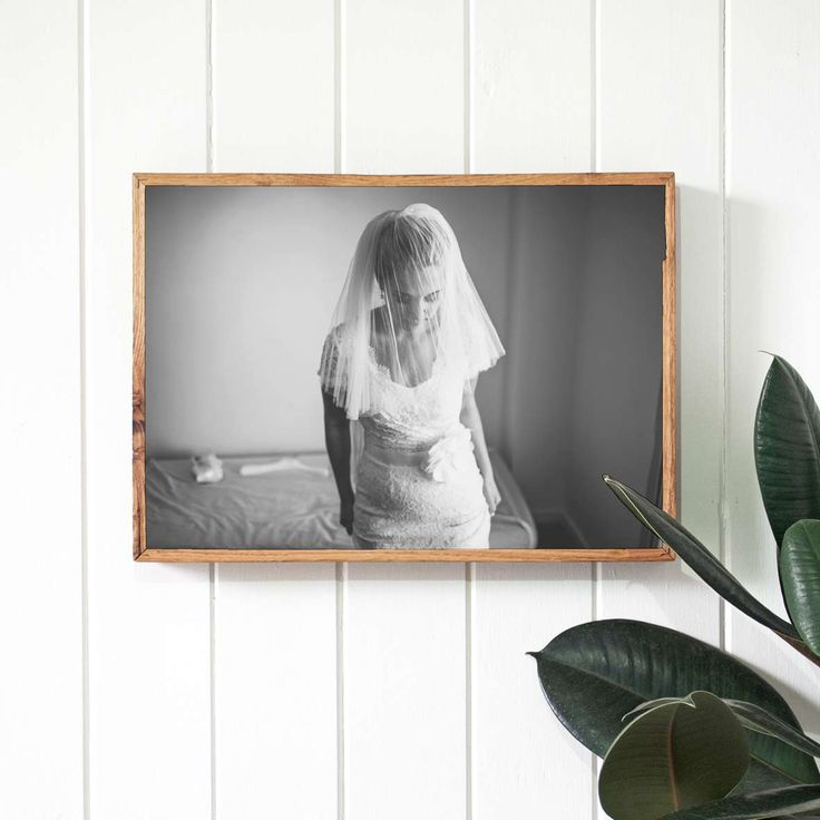 Print your wedding photos on stone with Imogen Stone. Printed on stone and framed in reclaimed timber.