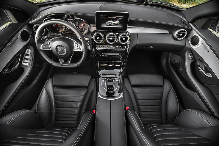 New Mercedes C class interior shoot via sunroof #mercedes #interior #amg see more: http://premiummoto.pl/12/11/mercedes-benz-c220-bluetec-galeria