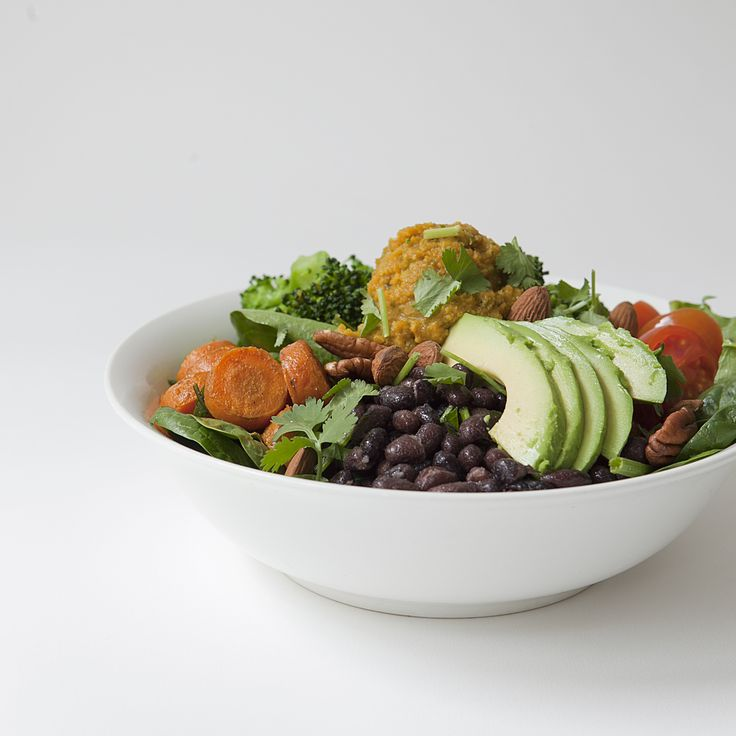 vegan rainbow bowl // Spring Menu // by Wij Zijn Kees // www.ilovesla.com