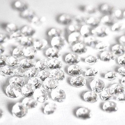 300 piece Small Gemstone Diamonds Table Confetti, 3/8-inch – shop.PartySpin.com