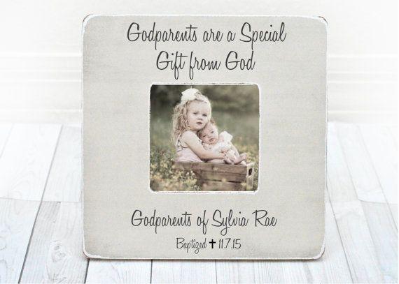 Godparents Gift GodparentsFrame Gift for by BrandonScottAD on Etsy