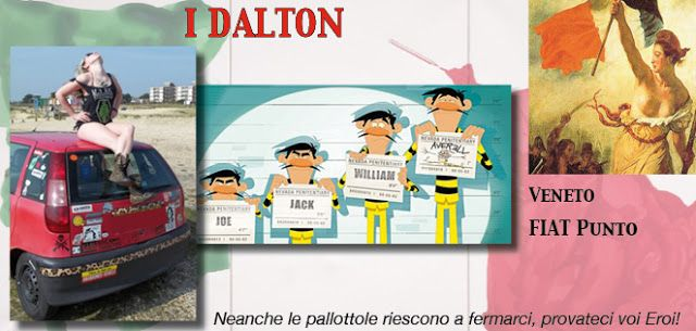 56_I DALTON http://rallydeglieroi2016.blogspot.it/p/catalogo-degli-eroi.html #rallydeglieroi #sonouneroe #Garibaldi @RobertoCattone