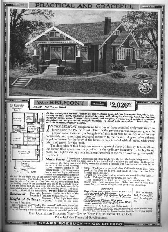 56 best arts and crafts exterior images on pinterest for Californian bungalow floor plans