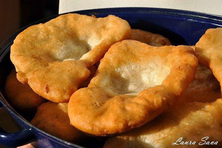 Langosi   Retete culinare cu Laura Sava