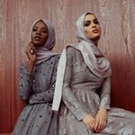 2,769 отметок «Нравится», 3 комментариев — INAYAH (@inayahc) в Instagram: «Outshine yourself in our premium evening wear gowns. Grey Floral Cluster Bead Gown Light Grey Crepe…»
