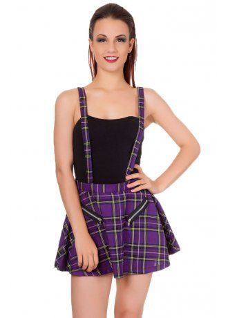 Pinafore style dress pattern