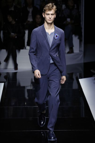 Emporio Armani Spring/Summer 2017 Ready-To-Wear Collection | British Vogue
