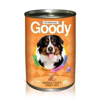 Goody Tavuklu Hindili Yetişkin Köpek Konserve Yaş Maması
