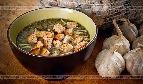 Witaminowa zupa z pokrzywy-Iwony
