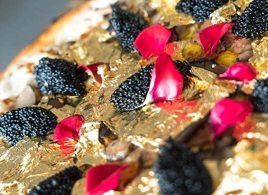 Would You Pay $2,000 for a Pizza Topped With 24-Karat Gold?    #Pizza #foodporn