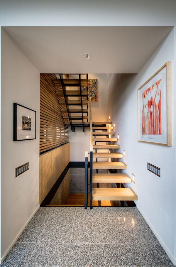 34 best escaleras images on Pinterest | Fire glass, Balconies and ...