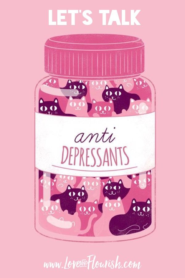 Blog post! I share my experience and thoughts on antidepressants! Art by WeAreExtinct