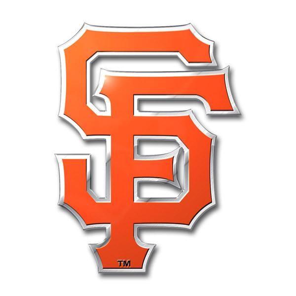 San Francisco Giants Auto Emblem - Color