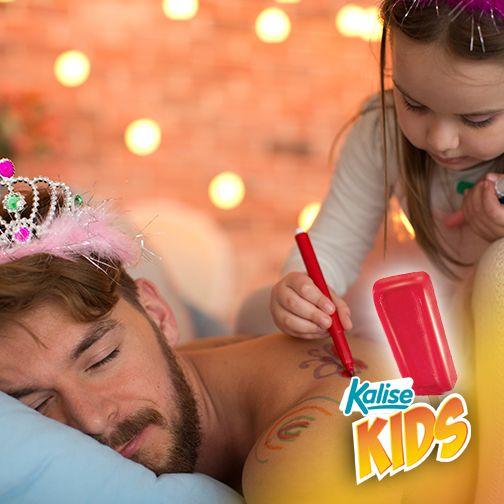 Ese momento en el que te levantas y descubres que has conectado con tu hija… jajajajaja ¡Kalise para todos!