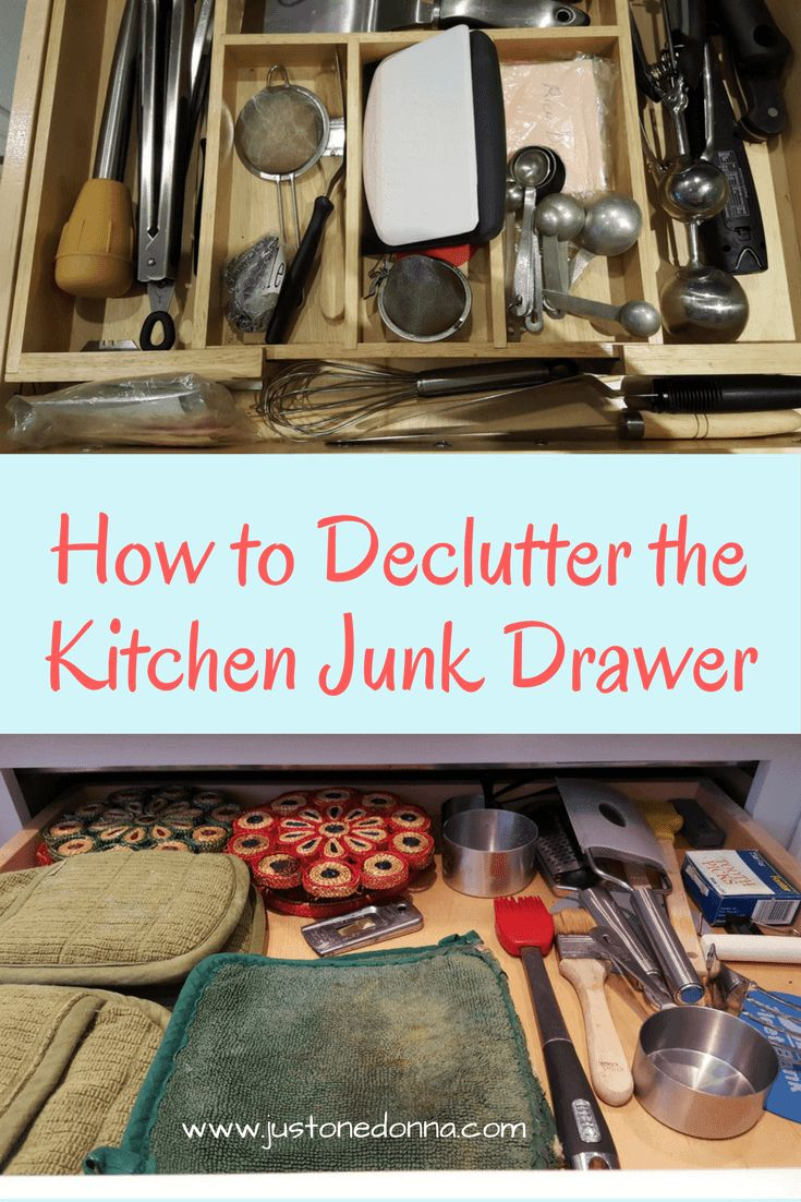 Tips to conquer your messy kitchen junk drawer junk for Kitchen junk drawer