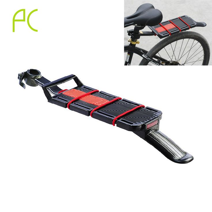 PCycling Aluminum Alloy Bike Rack Rear Mountain MTB Bicycle Rack Quick Removal Installation Carrier Rack With Fender Tailling