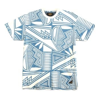 Label: 10Deep  £29.17 (£35.00 inc VAT)  Bright blue aztec design perfect for any occasion, dress up or down this tshirt is flyy!  Available from www.cataputl.co.uk