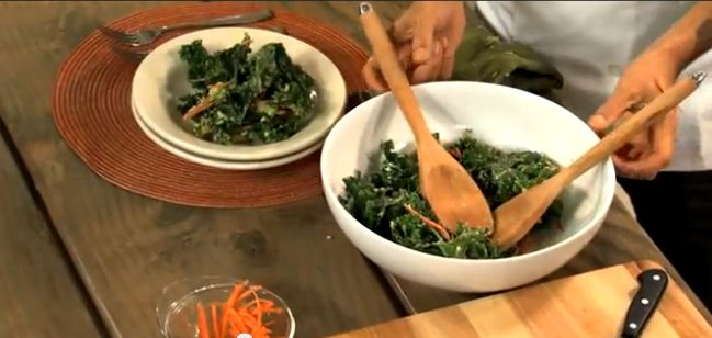 Chef Matteo's Winter Kale Salad
