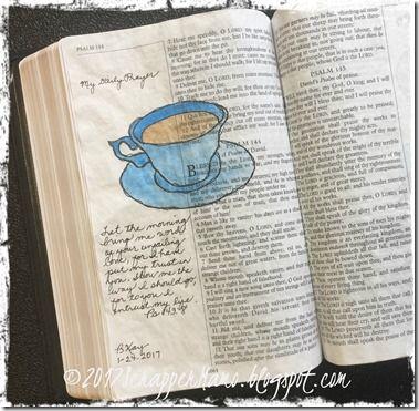 Bible Art Ps 143-8