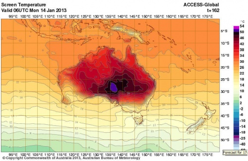Epic Heat, Wildfires Are Scorching Australian Landscape - An exceptional heat wave and associated spate of wildfires have scorched the Australian landscape during the past two weeks, with Monday ranking as Australia's hottest day on record. According to the Associated Press and the Australian Bureau of Meteorology (BOM), the national average temperature on Monday was a sizzling 104.6°F. That eclipsed the previous mark of 104.3°F set in 1972.