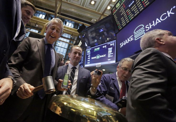 IPO lands Shake Shack's Danny Meyer $342M in 1st day | Shake Shack  #ShakeShack