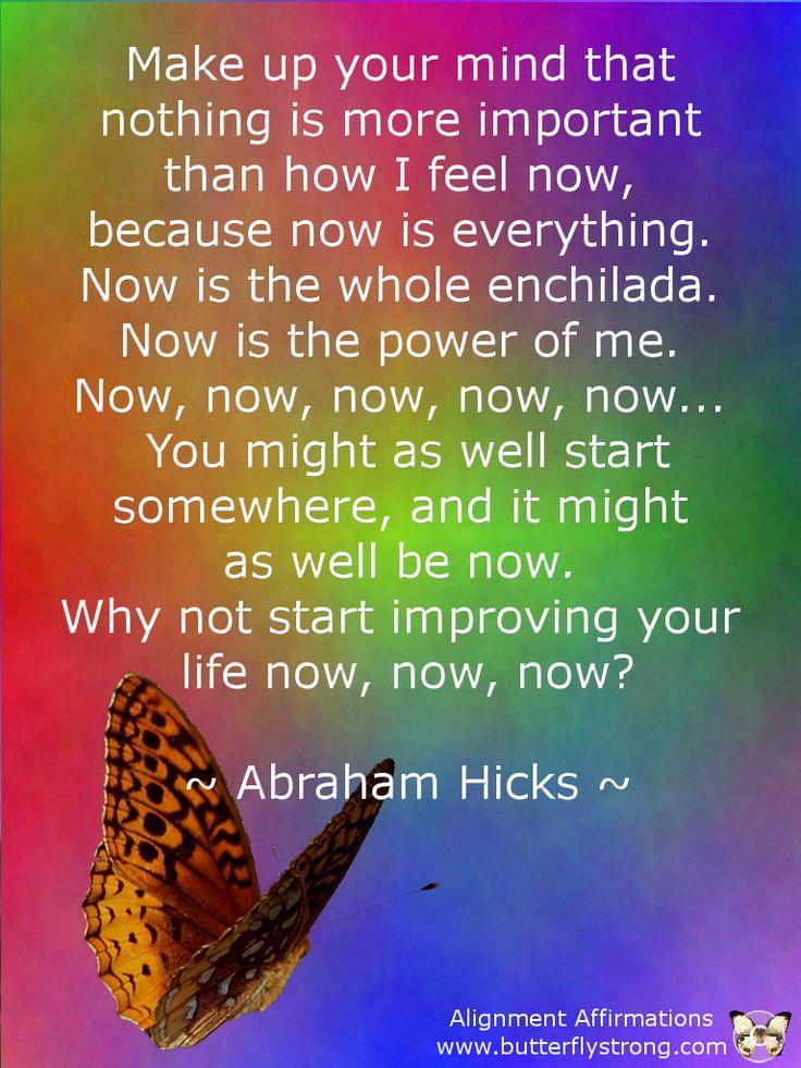 ~ Abraham Hicks ~