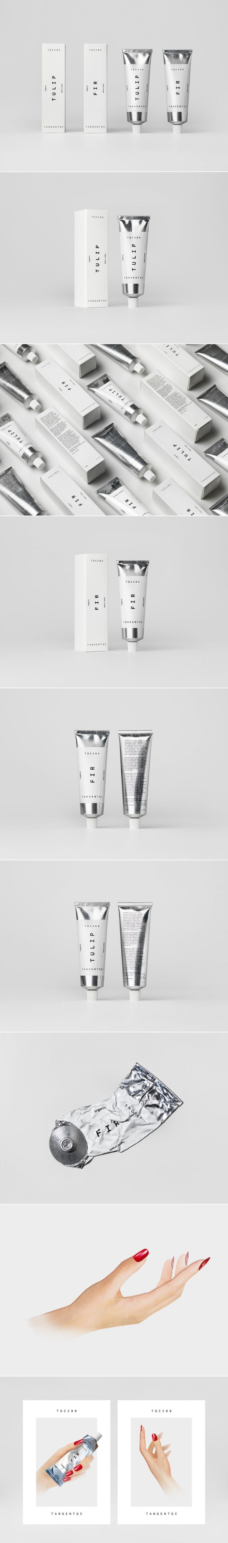 Check Out the Elegant Minimal Packaging For This Hand Cream — The Dieline | Packaging & Branding Design & Innovation News