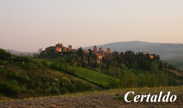 Certaldo Alto - Tuscany. Visited for 2 weddings, both were amazing.
