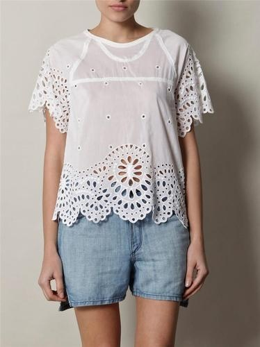 ISABEL MARANT Dream Broderie Anglaise Top