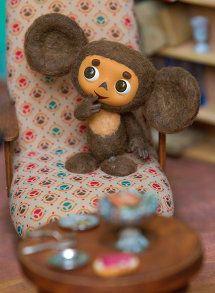 Cheburashka- Soviet cartoon character