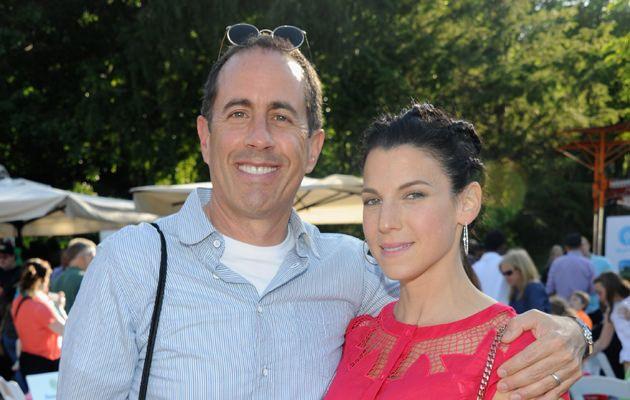 Jerry Seinfeld & wife Jessica