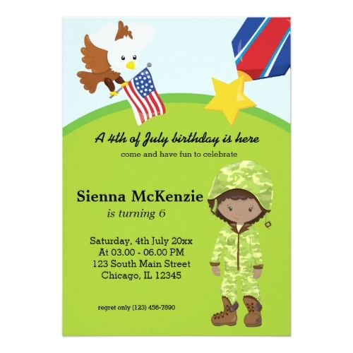 121 best military birthday party invitations images on pinterest military soldier girl card stopboris Image collections