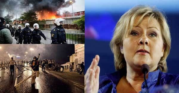 Norway to abandon Geneva Convention if Sweden collapses. Border to be closed by force.