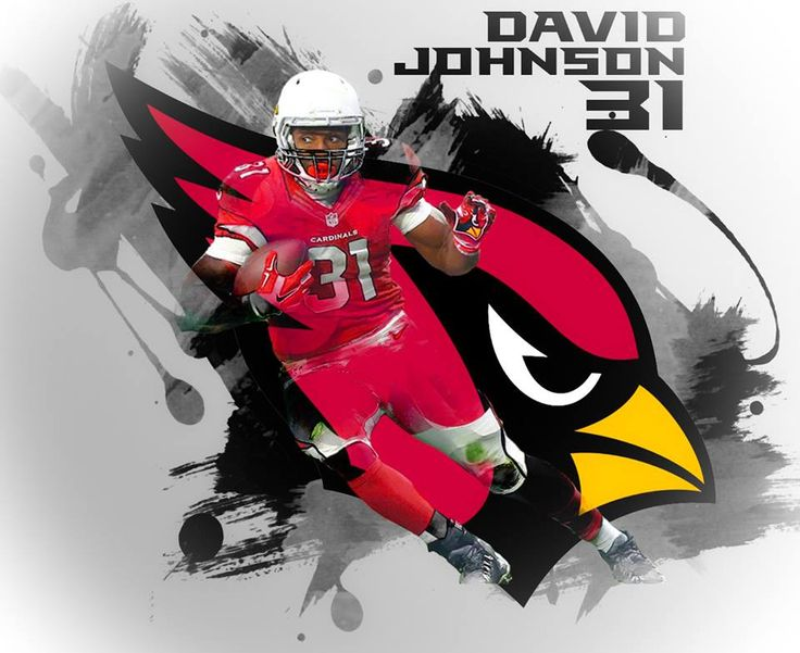Arizona Cardinals David Johnson RB #31 2016 #BirdGang #AZLadyBirds