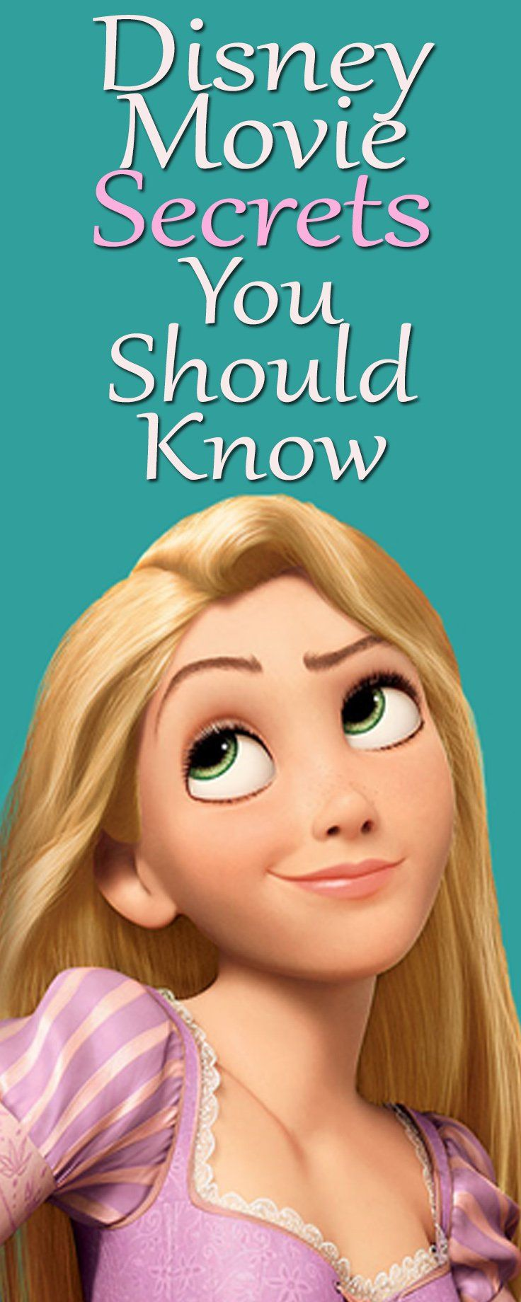 Oh really? I haven't noticed that ever since! These Disney Secrets will shock you real good!