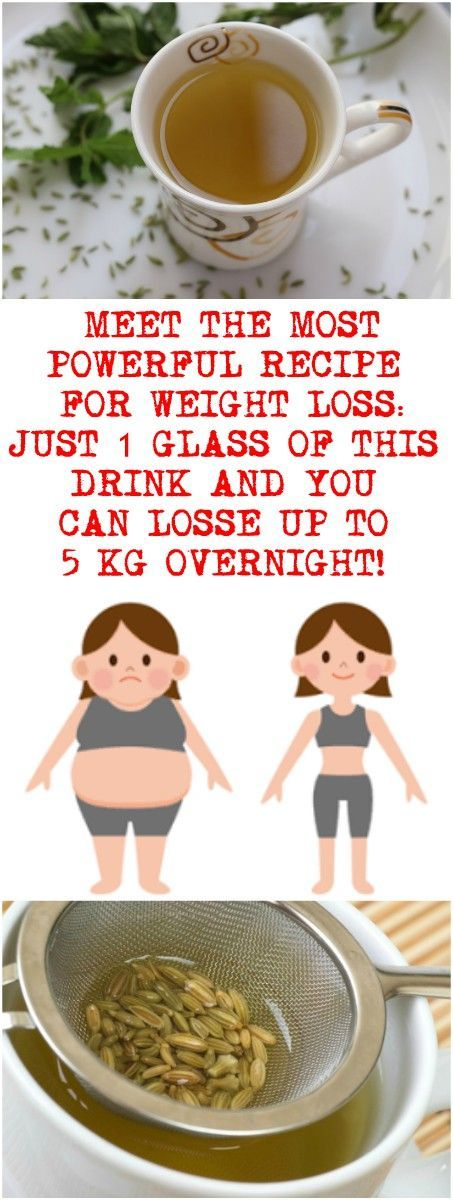 MEET THE MOST POWERFUL RECIPE FOR WEIGHT LOSS: JUST 1 GLASS OF THIS DRINK AND YOU CAN LOST UP TO 5 KG OVERNIGHT!