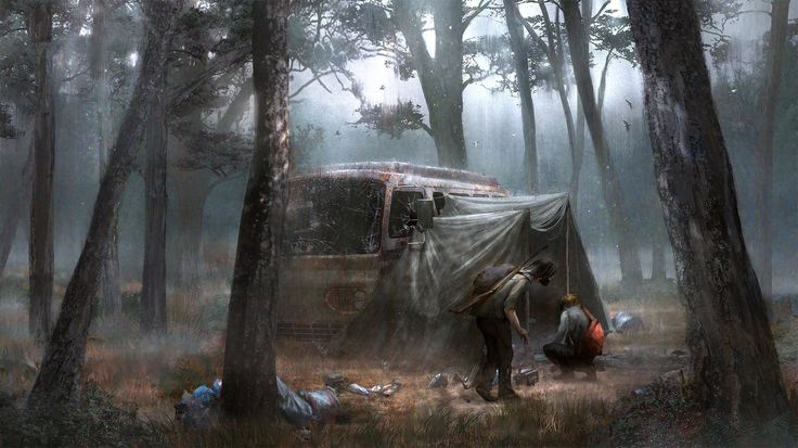 Exploring, Wacław Wysocki on ArtStation at https://www.artstation.com/artwork/GX4XQ