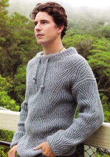 Men's sailing sweater by Claudia Pacheco