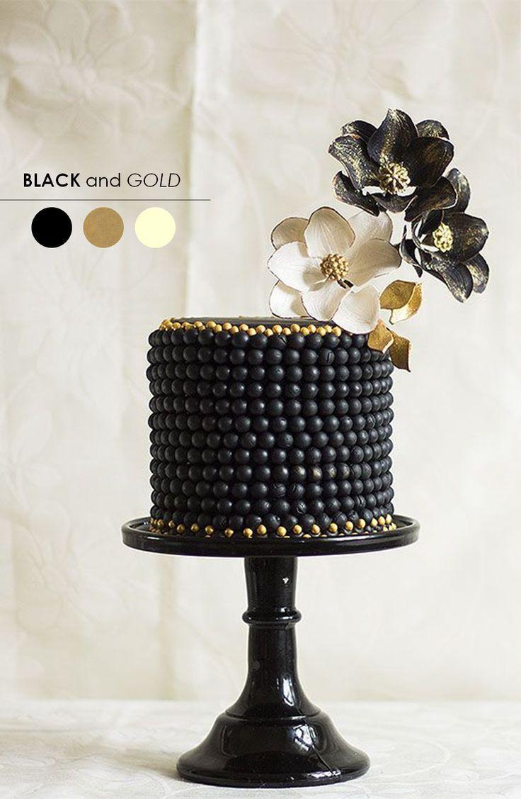 115 best Black + White Weddings images on Pinterest | Cake wedding ...