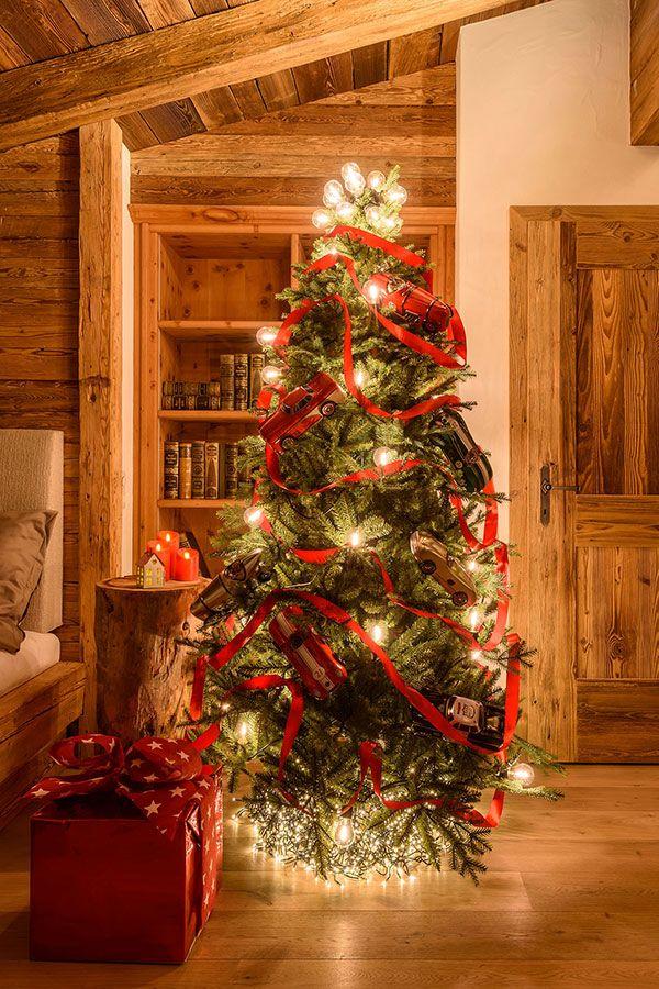 Albero Di Natale Grande.18 Idee Per Addobbare L Albero Di Natale Christmas Christmas
