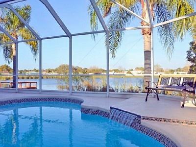 New Port Richey / Villa, vakantiehuis aan het meer in Florida in de buurt van de Golf van Mexico