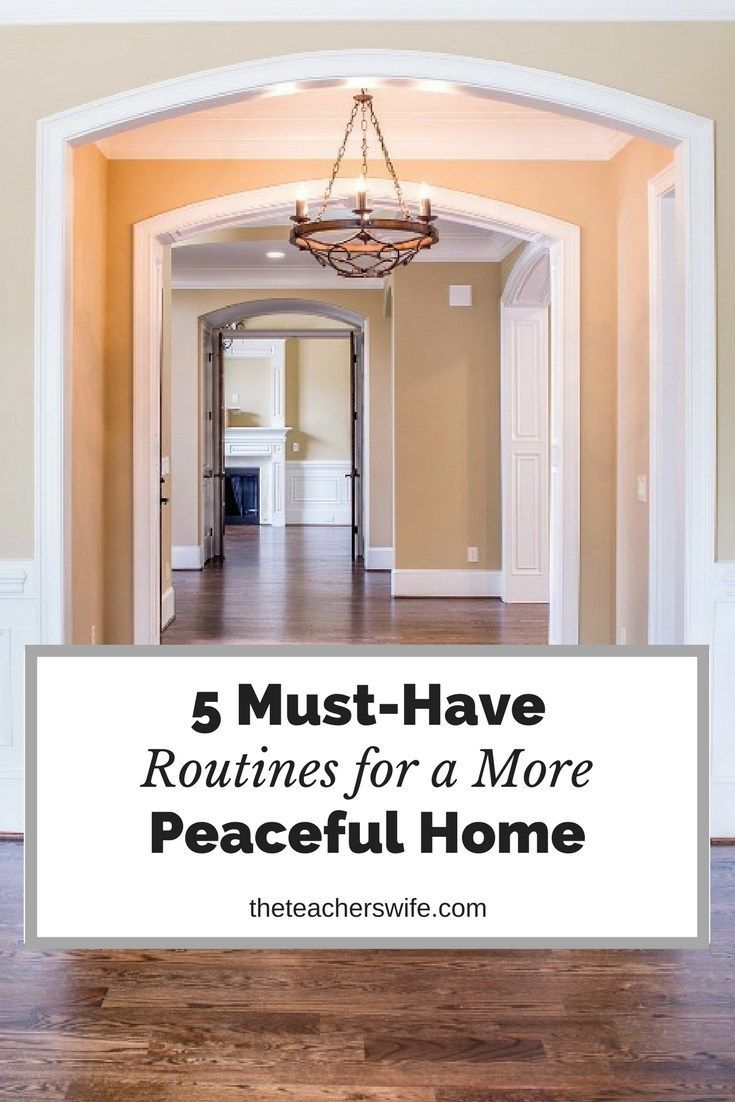 Routines are a huge help in our home. Check out these must-have routines so you can have a more peaceful home.